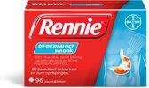 Rennie Pepermunt - 96 Kauwtabletten - Maagzuurremmers