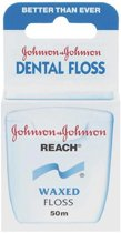 Johnson & Johnson Reach Dental Waxed Floss - 50 m - Flosdraad
