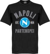 Napoli Established T-Shirt - Zwart - XL