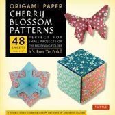 Origami Paper Cherry Blossom Patterns (Small)