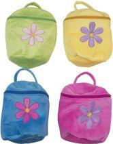 Bloemtasjes in 4 verschillende kleuren