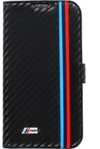 BMW M Collection Folio Book Case Black Carbon Effect for Samsung Galaxy S4 Mini