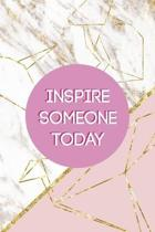 Inspire Someone Today: Origami Notebook Journal Composition Blank Lined Diary Notepad 120 Pages Paperback Pink Marble