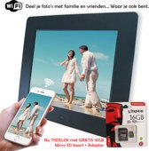 INNOVU - WiFi Digitale Fotolijst - 8 inch - Model AMALIA