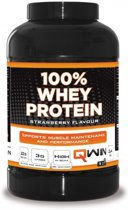 QWIN 100% Whey Protein Strawberry 2400g