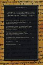 Journal for the Evangelical Study of the Old Testament, 4.2