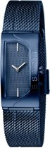 Esprit ES1L045M0065 Houston Blaze horloge - Staal - Blauw - Ø 18 mm