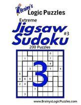 Brainy's Logic Puzzles Extreme Jigsaw Sudoku #3