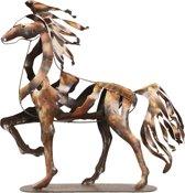 Kunstvoorwerp paard 49*12*50 cm Bruin | 5ART0017 | Clayre & Eef