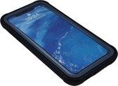 iPhone XR Beschermhoes met Screenprotector - Zwart