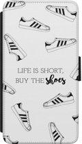 Huawei P8 flipcase hoesje - Buy the shoes
