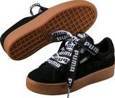 PUMA Vikky Platform Ribbon Bold Sneakers Dames - Black-Black