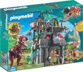 PLAYMOBIL Basiskamp van de avonturiers met T-Rex - 9429