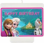 Verjaardagskaarsje van Frozen™ - Feestdecoratievoorwerp