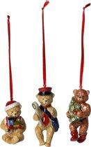 Villeroy & Boch Nostalgic Ornaments Ornamenten teddy, set 3-dlg.