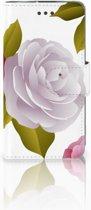 LG L70 Uniek Boekhoesje Roses