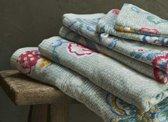 Pip badgoed Berry Bird green - handdoek 55x100 cm