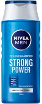 6 x Nivea Shampoo for Men Strong Power 250ml - Voordeelverpakking
