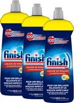 Finish Glansspoelmiddel Shine & Protect Lemon 3x 800 ml - Voordeelverpakking