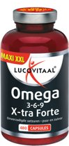 Lucovitaal Omega 3 6 9 Visolie - 480 capsules