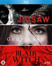 Jigsaw / Ghosland / Blair Witch (3 Blu-Ray)