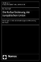 Die Kulturförderung der Europäischen Union
