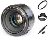 Yongnuo EF 50mm F1.8 autofocus lens Canon camera EF EF-S