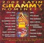 2002 Latin Grammy Nominees