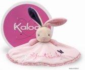Kaloo Petite Rose - knuffeldoek konijn rond - love