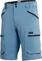 IXS Tema 6.1 Trail Korte Broek Heren, brisk blue Maat XL