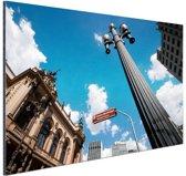 FotoCadeau.nl - Theatro Municipal van Sao Paulo Aluminium 120x80 cm - Foto print op Aluminium (metaal wanddecoratie)