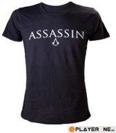 Assassin's Creed Black Flag - Male Crewneck T-Shirt 'Assassin' - M