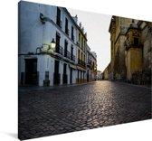 Het oude centrum van het Spaanse Cordoba in Andalusië Canvas 120x80 cm - Foto print op Canvas schilderij (Wanddecoratie woonkamer / slaapkamer) / Europese steden Canvas Schilderijen