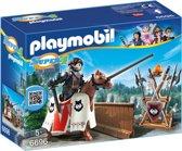 Playmobil Heer Rypan, ridder te paard, wachter van de Zwarte Baron - 6696