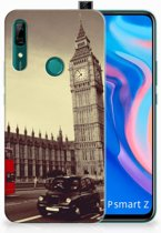 Huawei P Smart Z Siliconen Back Cover Londen