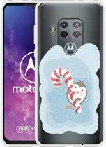 Motorola One Zoom Hoesje Candy Pinquin