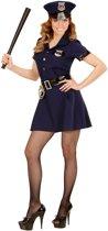 Politie meisje kostuum