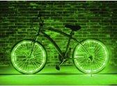 LED Wielverlichting fiets - set van 2 Groen