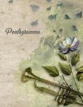 Pentagramma: Quaderno di Musica Pentagrammato