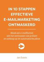 10 stappen boekenserie - In 10 stappen effectieve e-mailmarketing ontmaskerd