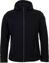 Icepeak Lukas Softshell  Sportjas - Maat XL  - Mannen - zwart
