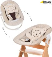Hauck Alpha Newborn bouncer 2 in 1 Wipstoeltje - Hearts Beige