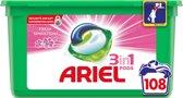 Ariel 3in1 Pods Fresh Sensation Pink wasmiddel capsules - 108 stuks