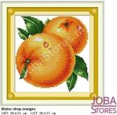 """Borduur Pakket """"JobaStores®"""" Fruit 01 11CT voorbedrukt (26x27cm)"""