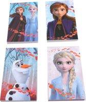 Disney Frozen Ii Notitieboekjes 4 Stuks