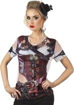 Fotorealistisch shirt Steampunk