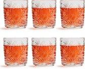 Libbey waterglas Atik – 230 ml of 23 cl – 6 stuks – stapelbaar – vaatwasserbestendig – vintage design – hoge kwaliteit