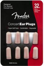 Gehoorbescherming Concert Series Foam Ear Plugs FENDER