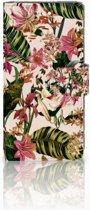 Huawei P10 Uniek Boekhoesje Flowers