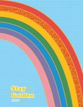 Stay Golden 17-Month Personal Planner 2020
